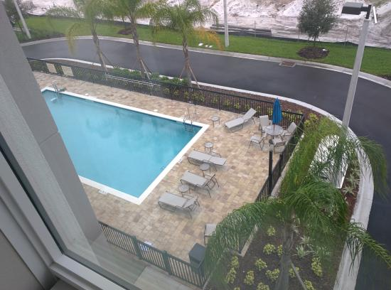 Pool daylight picture of hampton inn suites orlando at for Pool show orlando 2015