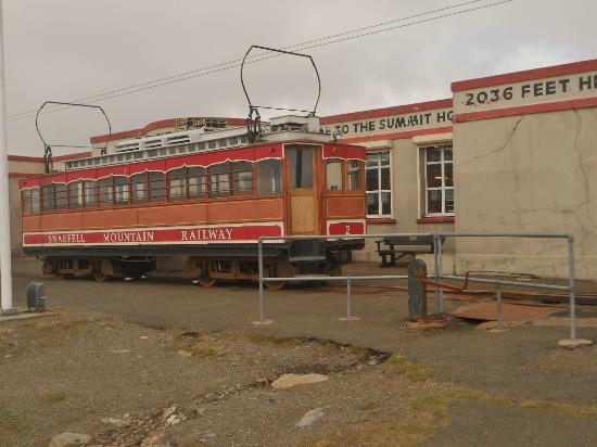 Summit Picture Of Snaefell Mountain Railway Laxey Tripadvisor