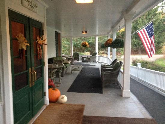 Livingston Manor, NY: Porch