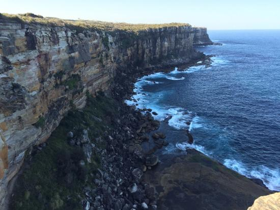 Manly Bike Tours and Bike Hire: Cliffs view--Sydney Harbour National Park