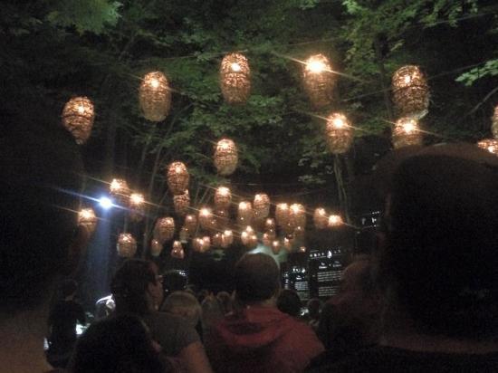 Coaticook, Canada: lanterns