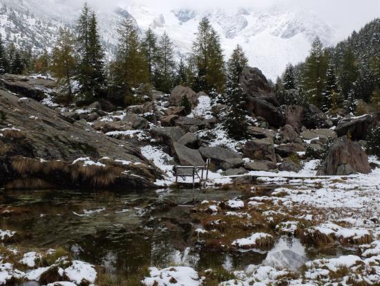 Val Masino, Italie : da Preda Rossa verso il Monte Disgrazia
