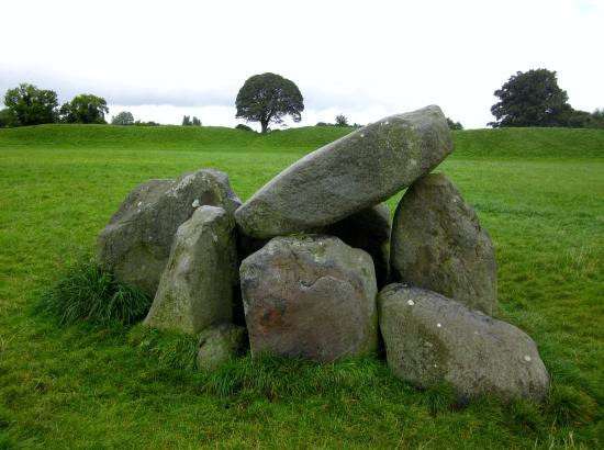 Standing stones at Giant's Ring