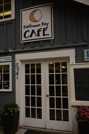Sunshine Coast, Canada: The Half Moon Bay Café