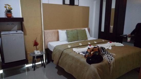 Supsangdao Resort: Bed