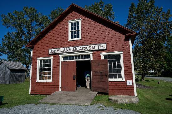 Sherbrooke, Kanada: Blacksmith's shop