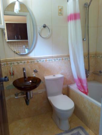 Zante Calinica Apart Hotel: Bathroom