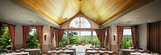 Woodloch Pines Resort: Corporate meetings, weddings, or just about any event, hosted at the Woodloch Springs Clubhouse