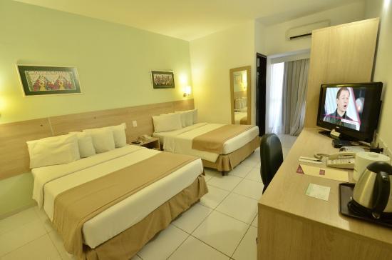 Quarto duplo solteiro picture of green smart hotel sao for Smart hotel