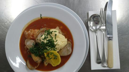 Field green wellington restaurant reviews phone for Portuguese fish stew