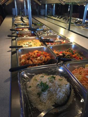 Taj International Cuisine: Everything is great !!
