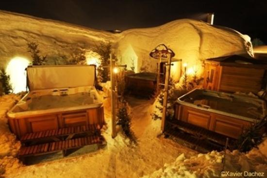 Hotel de Glace: Sauna and spas