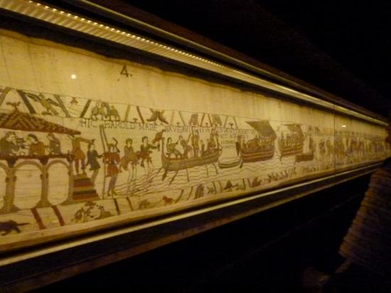 Bayeux Tapestry Museum - Picture of Musee de la Tapisserie de Bayeux, Bayeux ...