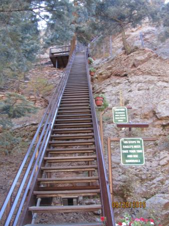 Seven Falls: Stairs