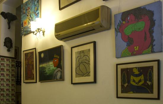 Devna: Selection of art works in the foyer