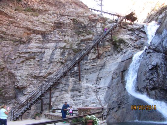 Genial Seven Falls: 2nd Set Of Stairs