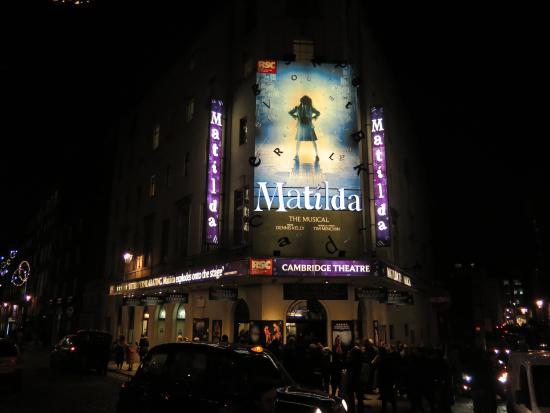 Hotels Near Matilda Musical London