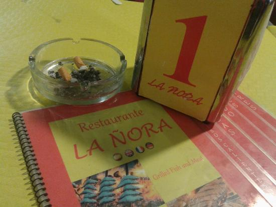 La Nora: La Ñora carne & pescado.