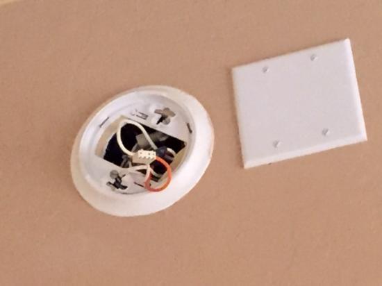 Sonoita Inn: Missing smoke detector