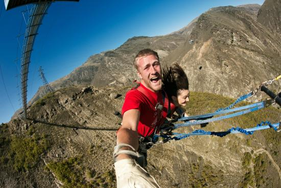 AJ Hackett Bungy New Zealand: The Nevis Swing