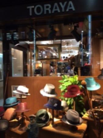 Toraya Hat Shop Ginza Honten