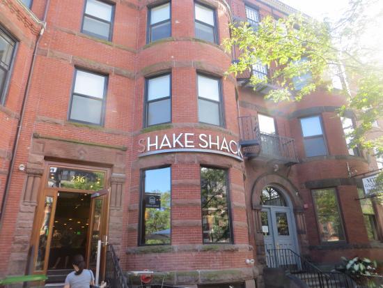 Foto de Shake Shack, Boston: Shake Shack en Newbury St