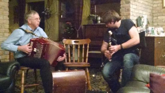 Cappabhaile House : Music!