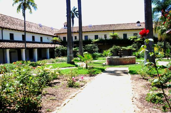 Old Mission Santa Barbara: Mission Gardens From Another Perspective