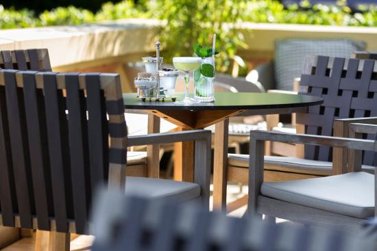 Hotel Royal-Riviera: Le Cap Bar terrace
