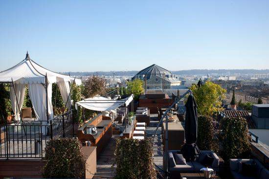 Image result for interContinental Bordeaux - Le Grand Hotel, night beach, bordeaux