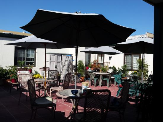 Hotel California : Lovely rooftop terrace