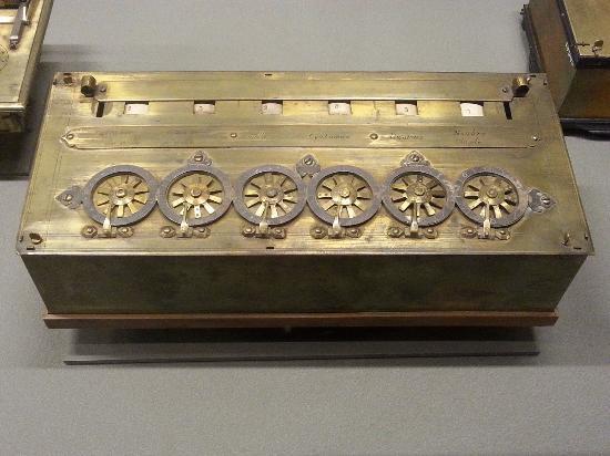 Computer history - 1600's