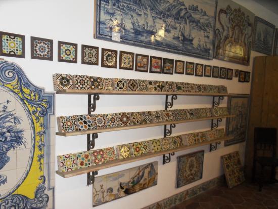 azeit o f brica de azulejos foto van walkborder tours