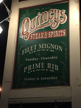 Quincys Steak & Spirits: photo0.jpg