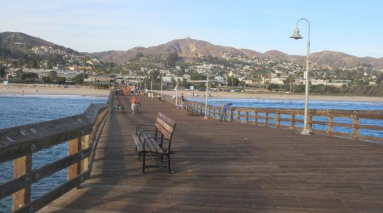 Sign picture of ventura pier and promenade ventura for Ventura pier fishing