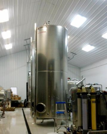 Beulah, MI: Inside the winery