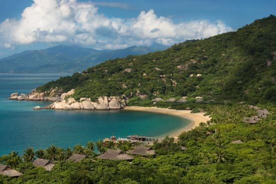 Six Senses Ninh Van Bay: Aerial View Beach Villas A