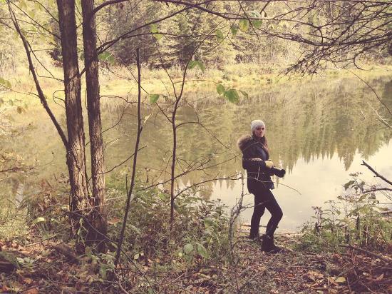 Champion, MI: Hiking the trails!