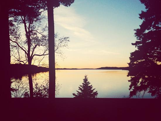 Champion, MI: A view of the lake from the campground