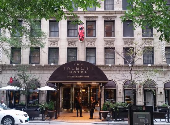 Rose petal bed picture of the talbott hotel chicago for Talbott hotel chicago