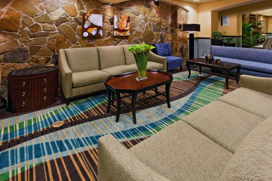 Holiday Inn Express Hotel & Suites Weatherford: Weatherford Hotel Guest Lounge