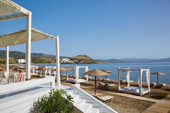 Lindos Blu: Beach