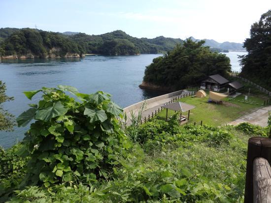 Hakata-jima, Japon : キャンプ場