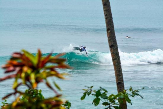 Mentawai Surf Retreat: right in front