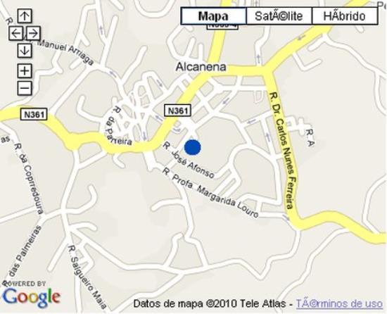 alcanena mapa Plano MAPA   Picture of Hotel Eurosol Alcanena, Alcanena   TripAdvisor alcanena mapa