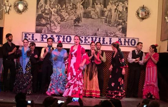 The Show 1 Picture Of El Patio Sevillano Seville Tripadvisor