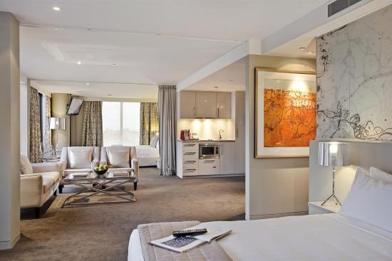 Art Series - The Olsen: Two Bed Open Plan Suite