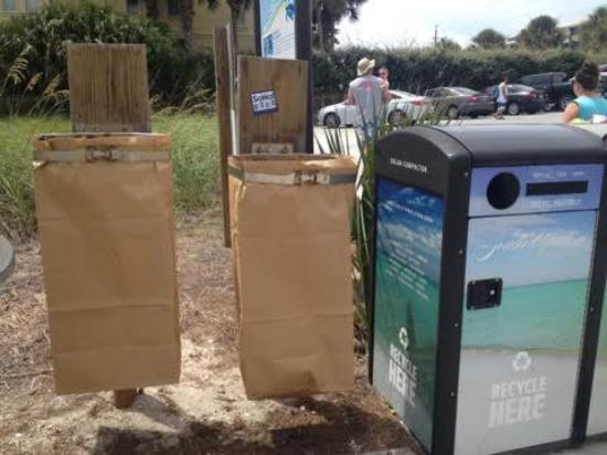 Santa Rosa Beach Paper Trash Bags