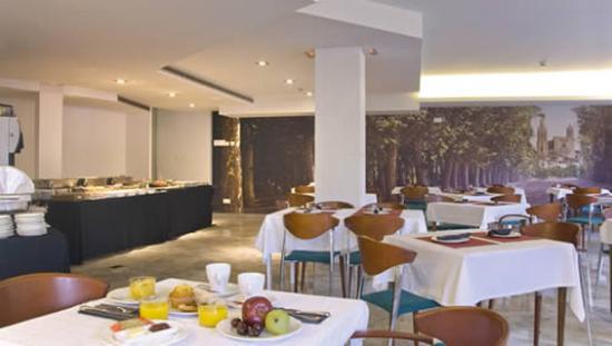 Hotel Gran Ultonia Girona: Restaurant