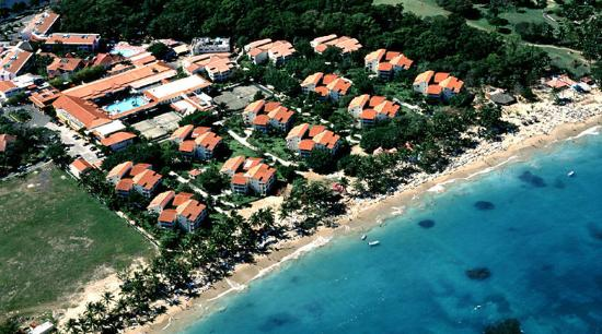 Hotel Beach House Playa Dorada : Vista Aerea